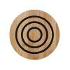 Bambusowa okrągła podstawka 20cm Ladelle Classic czarna