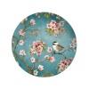 Talerz deserowy 19cm Nuova R2S Romantic niebieski