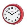 Zegar ścienny Zassenhaus Retro czerwony