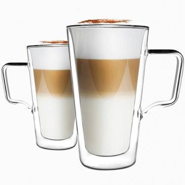2 szklanki termiczne wysokie do latte Diva Vialli Design