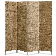 4-panelowy parawan, 160 x 160 cm, hiacynt wodny