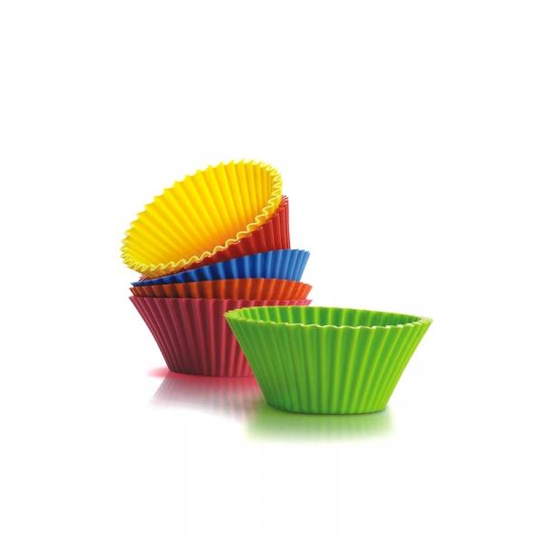 6 foremek na muffiny Silicone Zone Bake n'Joy SZ-10504-AA