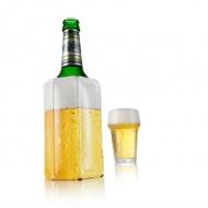 Aktywny schładzacz do piwa 13,5x22x1 cm Vacu Vin biało-żółty