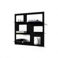 Biblioteczka Libra 3 D2 czarna