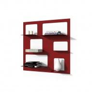 Biblioteczka Libra 3 D2 czerwona