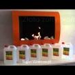 Biokominek dekoracyjny prostokątny 90x40 EcoFire Flat biały EF-9040-0