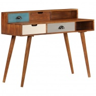 Biurko, 110x50x90 cm, lite drewno akacjowe