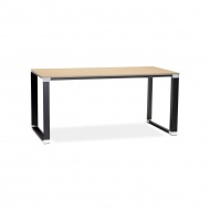 Biurko Kokoon Design Warner 160x80 cm drewniane