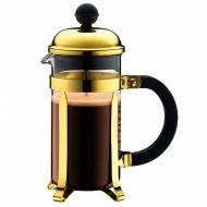 BODUM - Chambord - Tłokowy zaparzacz do kawy 1,5 l - Złoty