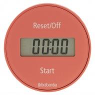BRABANTIA - Tasty+ - Magnetyczny timer kuchenny - Różowy