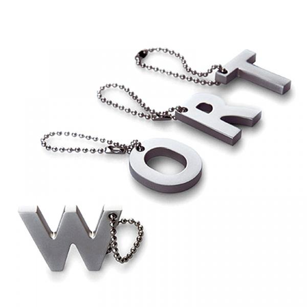 """Breloczek My letters """"U"""" Philippi Keys P193187U"""