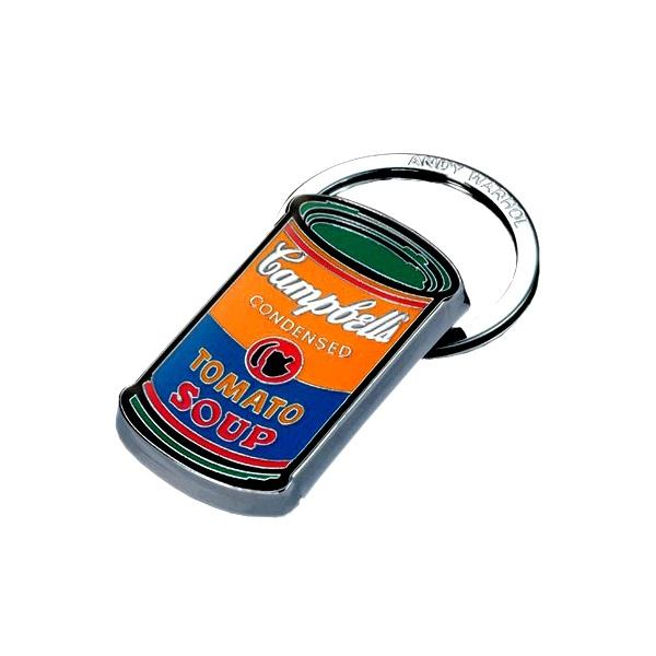 Brelok Troika A. Warhol CAMPBELL'S pomarańczowo zielony 04-02KYR