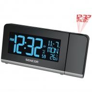 Budzik projekcyjny z termometrem I kalendarzem Sencor SDC 8200