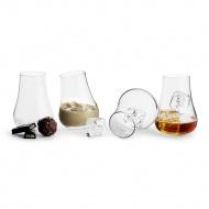 Bujające się szklanki do drinków 150 ml Sagaform przeźroczyste (4szt)