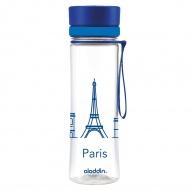 Butelka Aveo Paryż 0,6L Aladdin Hydration niebieska