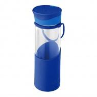 Butelka Enjoy 0,55L Aladdin Hydration szklana niebieska