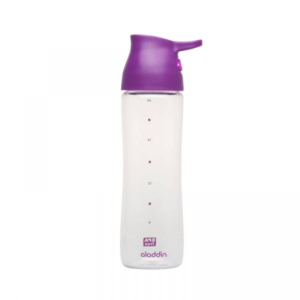 Butelka na napoje jednoręczna 0,7 l Aladdin Aveo fioletowa AL-10-01320-075