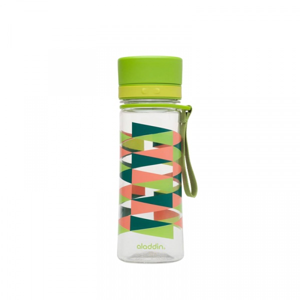 Butelka na napoje z nadrukiem 0,35 l Aladdin Aveo zielona AL-10-01101-077