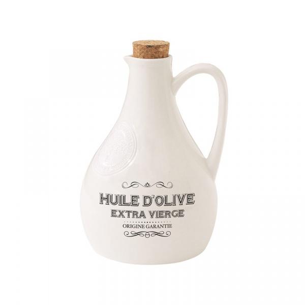 Butelka na oliwę z dozownikiem 0,5L Nuova R2S Delices Gourmets biały 834 DEGO