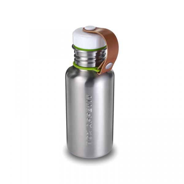 Butelka na wodę 350 ml Black&Blum stalowa srebrna BAM-WB-S001