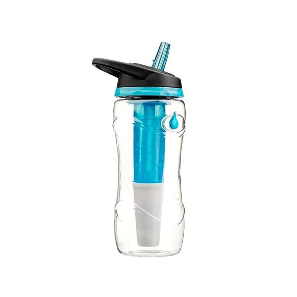 Butelka PURE 950 ml z żelowym wkładem i filtrem Cool Gear 752