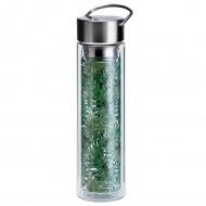 Butelka szklana na herbatę z pokrowcem 350 ml Eigenart Dżungla