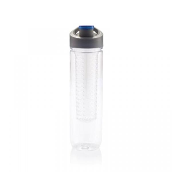 Butelka z wkładem chłodzącym 800 ml XDDesign Tritan niebieska XD-P436.055