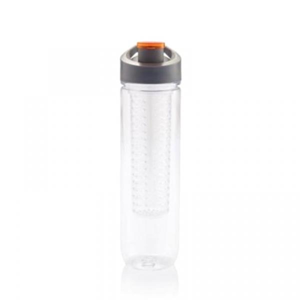 Butelka z wkładem chłodzącym 800 ml XDDesign Tritan pomarańczowa XD-P436.058