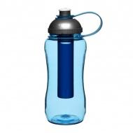 Butelka z wkładem na lód 0,52 l Sagaform Picnic niebieska