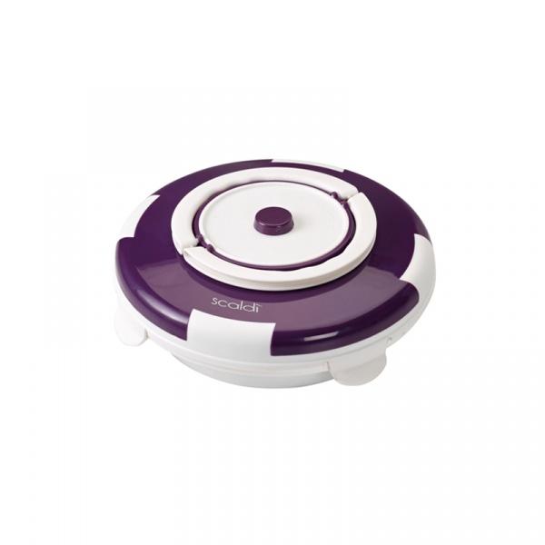 Ceramiczny pojemnik do podgrzewania żywności 799 Ariete Scaldi fioletowy 8003705110489