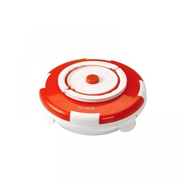 Ceramiczny pojemnik do podgrzewania żywności 799 Ariete Scaldi pomarańczowy 8003705110472