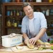 Chlebak emalia + deska Jamie Oliver JB8900