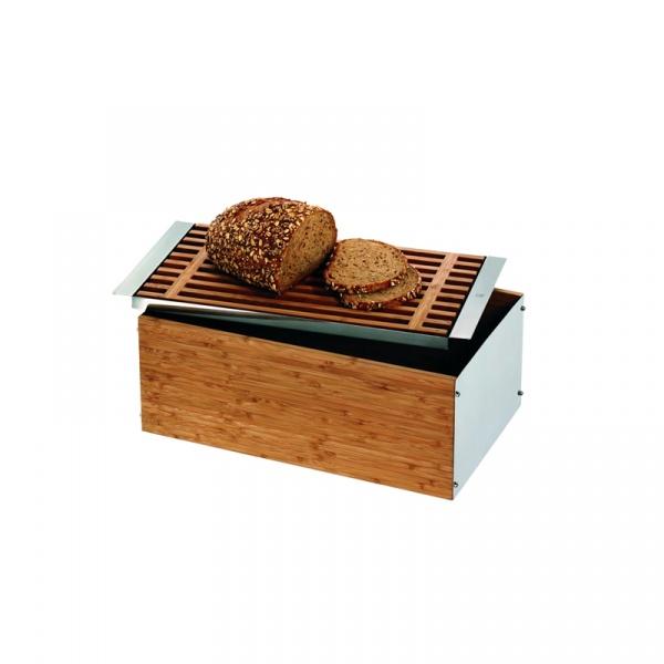 Chlebak z deską do krojenia i tacką WMF Gourmet 0634466040