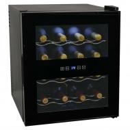 Chłodziarka do wina, 48 l, 16 butelek, wyświetlacz LCD