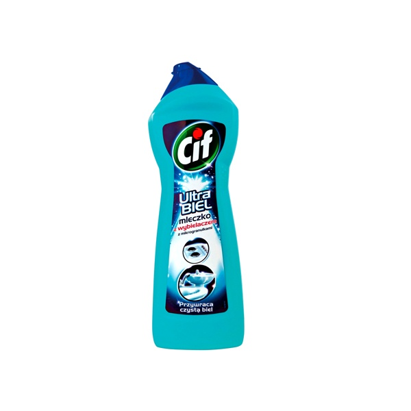 CIF CREAM 700 ml Ultrawhite Mleczko do czyszczenia 8711600304741