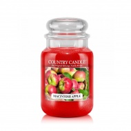 Country Candle - Macintosh Apple - Duży słoik (652g) 2 knoty