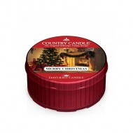 Country Candle - Merry Christmas - Daylight (35g)