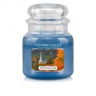Country Candle - New England - Średni słoik (453g) 2 knoty