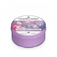 Country Candle - Snowflakes Glistening - Daylight (35g)