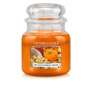 Country Candle - Spiced Pumpkin Seeds - Średni słoik (453g) 2 knoty