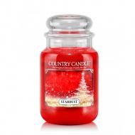 Country Candle - Stardust - Duży słoik (652g) 2 knoty
