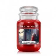 Country Candle - 'Twas the Night - Duży słoik (652g) 2 knoty