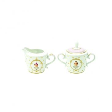 Cukiernica + mlecznik do kawy Nuova R2S Elegance