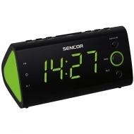 Cyfrowe wyświetlanie czasu i nastawionej częstotliwości Sencor SRC 170 GN