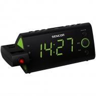 Cyfrowe wyświetlanie czasu i nastawionej częstotliwości Sencor SRC 330 GN