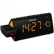 Cyfrowe wyświetlanie czasu i nastawionej częstotliwości Sencor SRC 330 OR