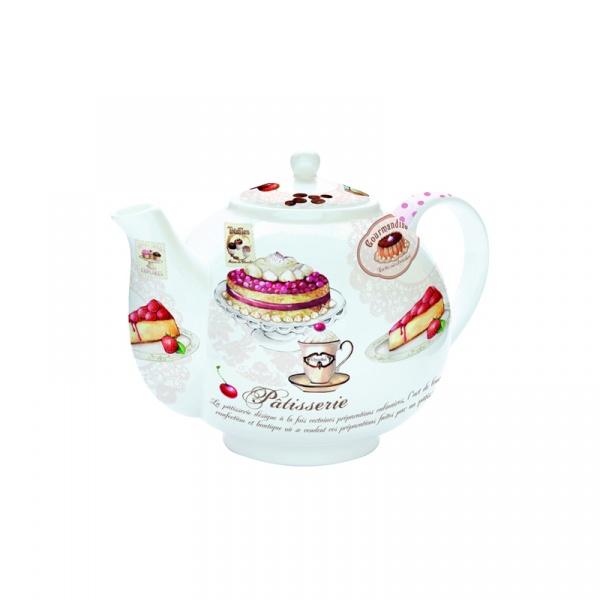 Czajnik do herbaty z zaparzaczem 1 l Nuova R2S Romantic ciasto 321 PATI