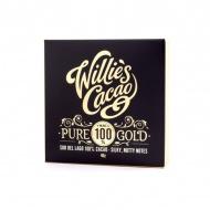 Czekolada 100% kakao Pure Gold Wenezuela 40g Willie's Cacao