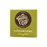 Czekolada 70% kakao imbir i limonka Kuba 50g Willie's Cacao