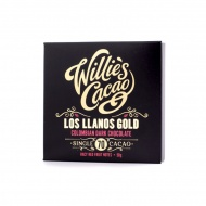Czekolada 70% Los Llanos Gold Kolumbia 50g Willie's Cacao